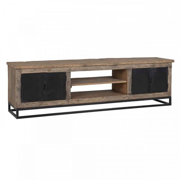 Comoda Tv din lemn reciclat Raffles 180 cm