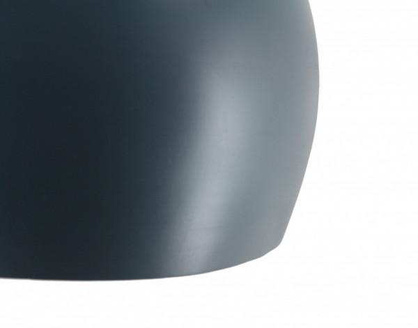 Lustra din fier/cupru/lemn Cameo albastra, un bec