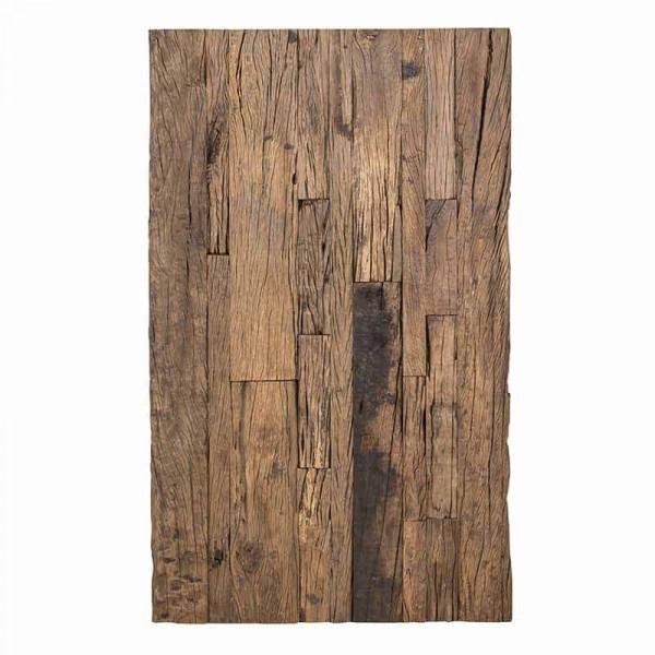 Masuta de cafea dreptunghiulara din lemn Kensington 130x80x45 cm maro