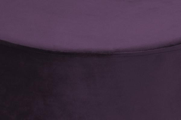 Puf/ Taburet tapitat Nano mov ignifug