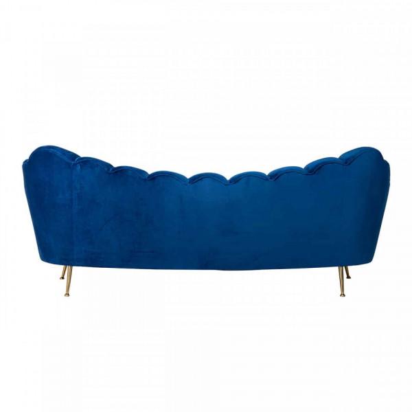 Canapea Cosette, 3 locuri, albastru