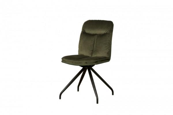 Scaun tapitat rotativ Rota verde