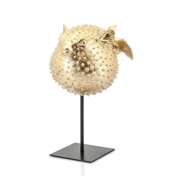 Decoratiune din metal peste balon Puffy, gold