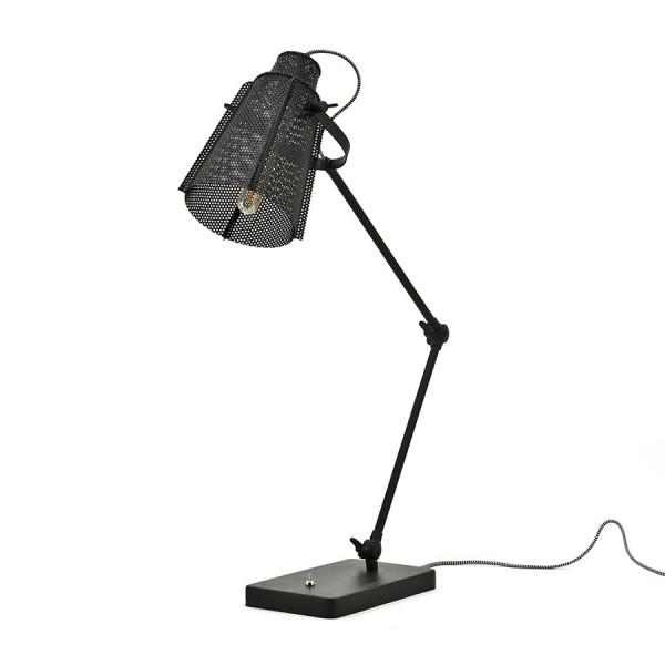 Lampa de birou din fier Apollo neagra