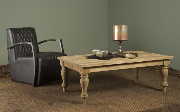 Masuta de cafea dreptunghiulara din lemn 130x75x45 cm maro deschis