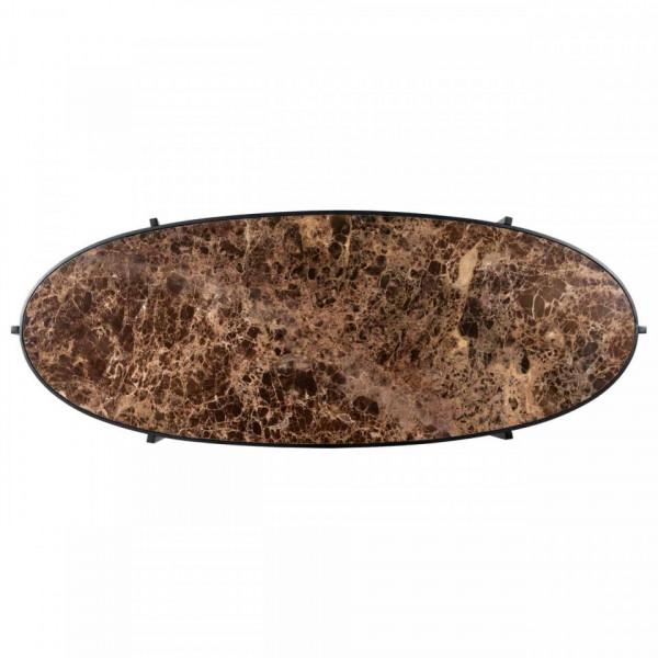 Birou din marmura cu spatiu de depozitare Dalton 160 cm