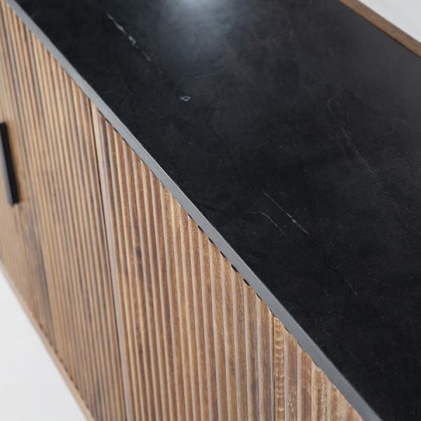 Comoda din lemn de mango Carter 105 cm