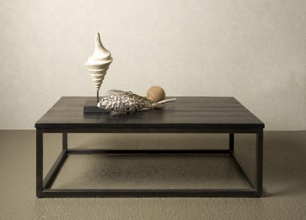 Masuta de cafea dreptunghiulara din lemn 135x75x45 cm maro inchis