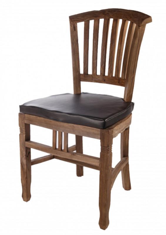 Perna de scaun din piele artificiala Accessories neagra
