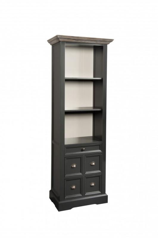 Biblioteca din pin Fleur 66x191 cm
