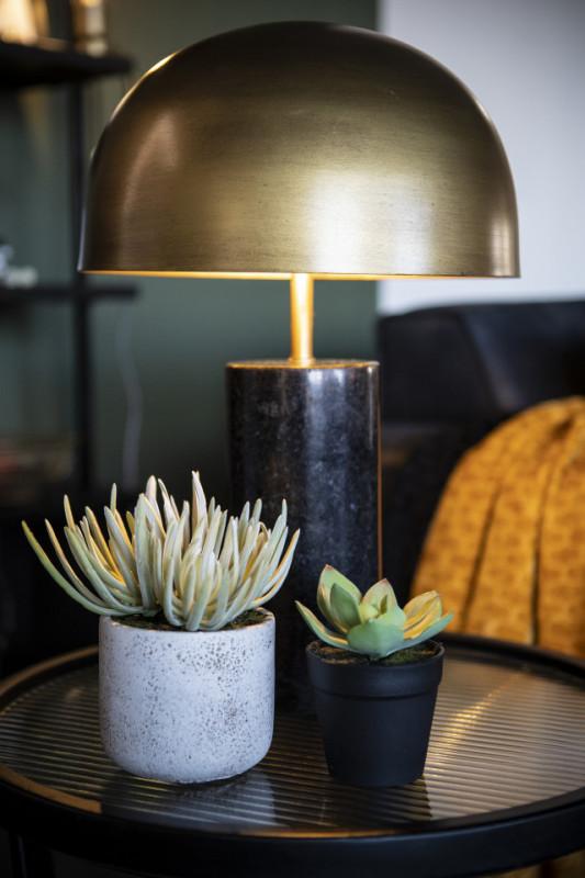 Lampa decorativa din marmura/fier David bronze, un bec