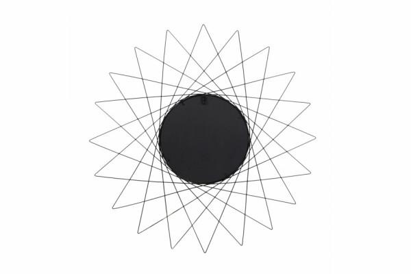Oglinda rotunda cu rama din metal aurie Soprano, 2cm (L / D) x 79cm (l) x 79cm (H)