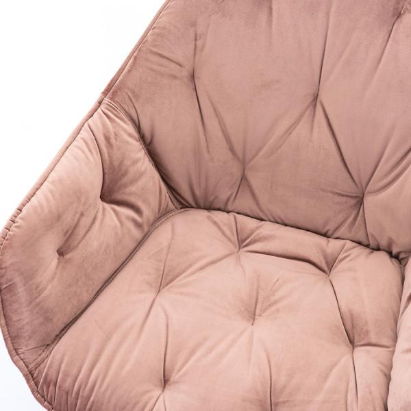 Scaun de bar din piele artificiala Kimberly antracit