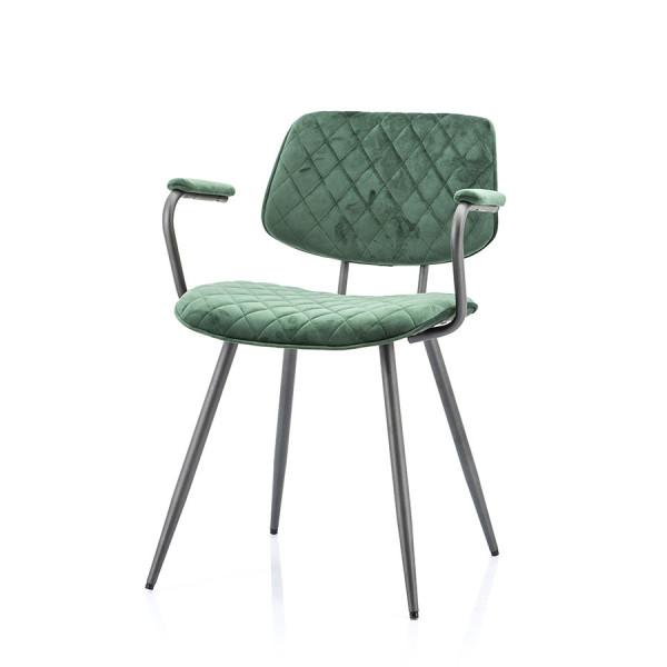 Scaun tapitat Msi verde