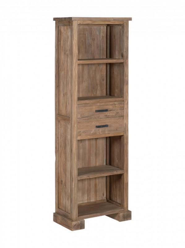 Biblioteca din lemn de drift 65x190 cm