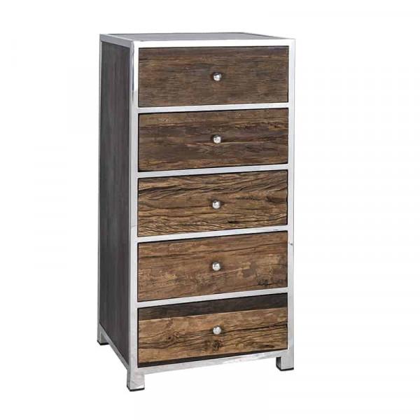 Comoda din lemn reciclat Kensington 118 cm