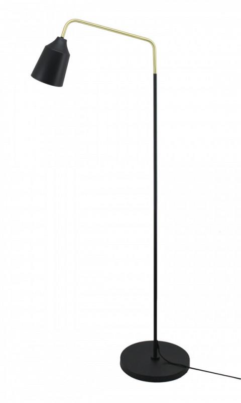 Lampadar din fier/cupru Capree negru, un bec