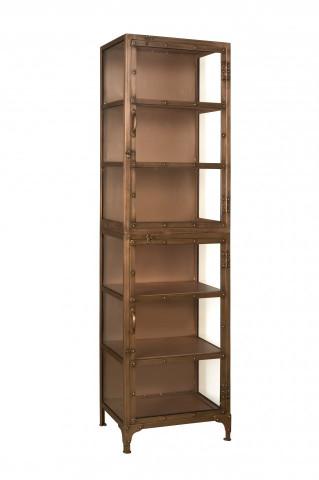 Biblioteca din metal 55x200 cm