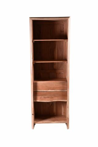 Biblioteca din salcam Albera 66x190 cm
