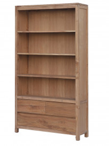Biblioteca din tec 120x210 cm