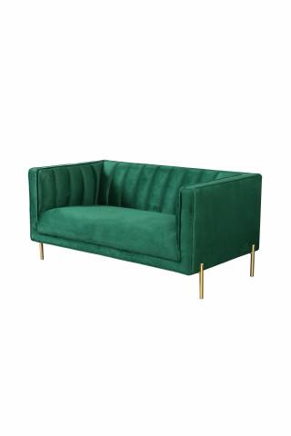 Canapea Santana verde, 2 locuri