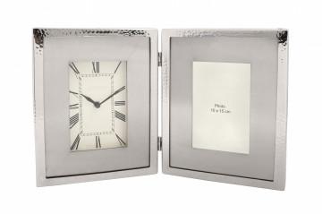 Ceas de masă Moments 3x40x25 cm argintiu