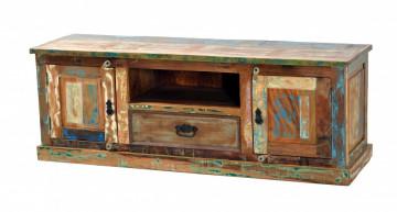 Comoda din lemn reciclat Riverboat 140 cm