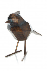Decoratiune din metal Songbird, bronze