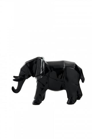Decoratiune Elephant, negru