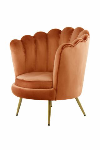 Fotoliu tapițat Bardot portocaliu