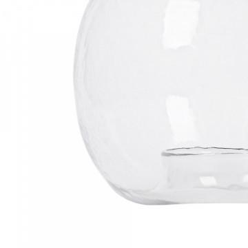 Lustra din sticla/fier Altair Large transparent/negru, un bec