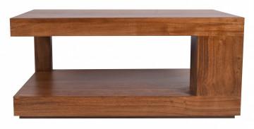 Masuta de cafea dreptunghiulara din lemn de salcam 90x60x40 cm
