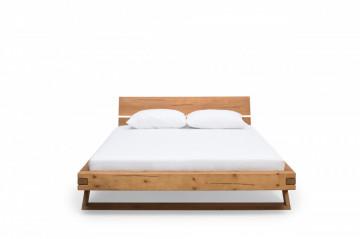 Pat din lemn de molid 218x218x90 cm