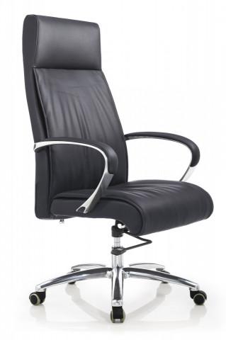 Scaun birou rotativ din piele NEO negru