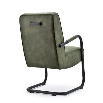Scaun tapitat Elburg verde