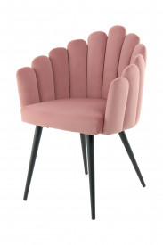 Scaun tapitat Jeane roz