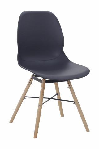 Set 2 scaune Amy negre