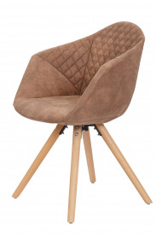 Set 2 scaune tapitate Chadwick maro