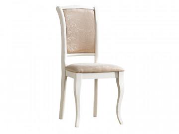 Set 2 scaune tapitate cu cadru din lemn ecru / bej