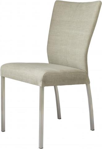 Set 2 scaune tapitate Roma gri