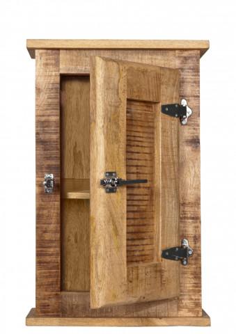 Set 5 piese mobilier pentru baie din lemn de mango Frigo