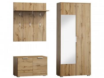 Set pentru hol din lemn 180 x 160 x 45 cm