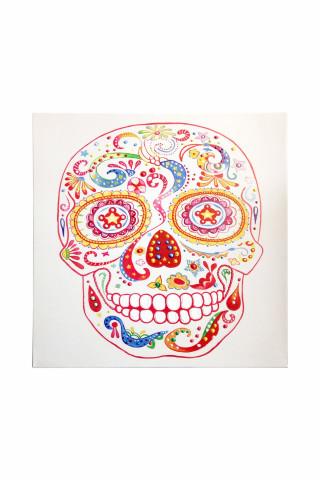 Tablou Skull 90cm x 90cm