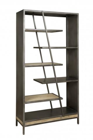 Biblioteca din mango W/N & Iron 100x190 cm