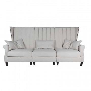 Canapea Jules, 3 locuri, gri deschis