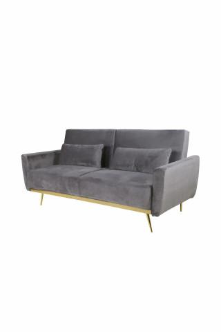 Canapea Macy gri, 3 locuri