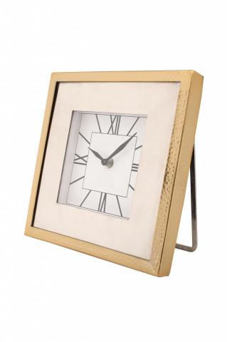 Ceas de masă Moments 3x22x22 cm auriu