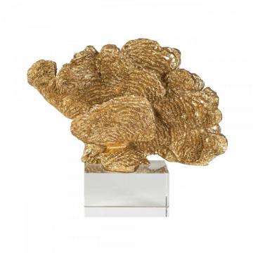 Decoratiune coral din cristal Aryan, gold