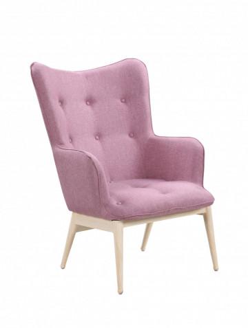 Fotoliu tapițat Sit&Chairs roz