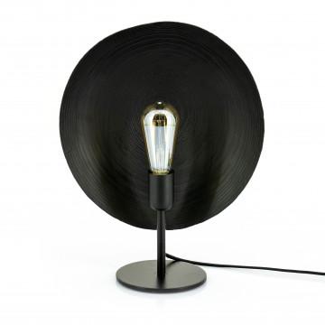 Lampa decorativa din fier Monque neagra, un bec